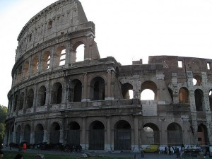 Colosseum in Rome by Jeff Moriarty