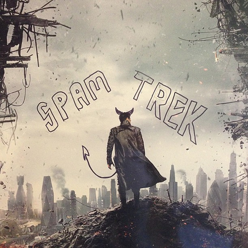 Spam Trek: Into Darkness